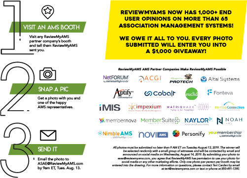 We're Celebrating with a $1,000 Giveaway! | ReviewMyAMS